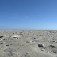 Genau dieser Ausblick ist es, den ich an Schleswig-Holstein so mag: Sand wohin man nur schaut!